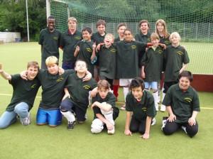 Mannschaft der Comenius Schule