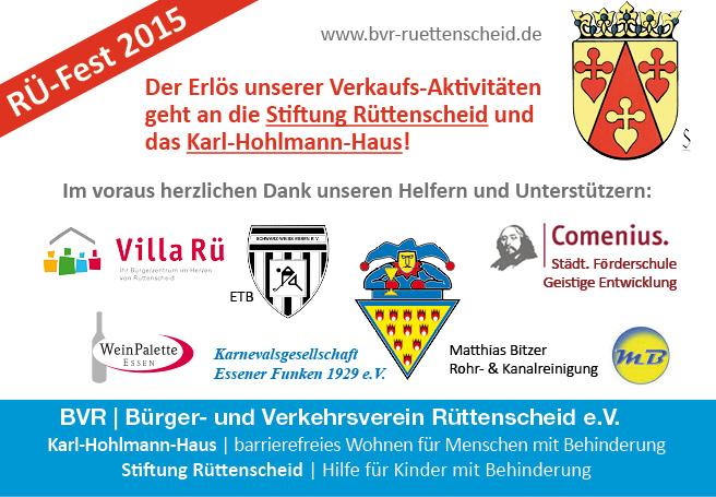FB Voraus Dank Rue Fest 2015